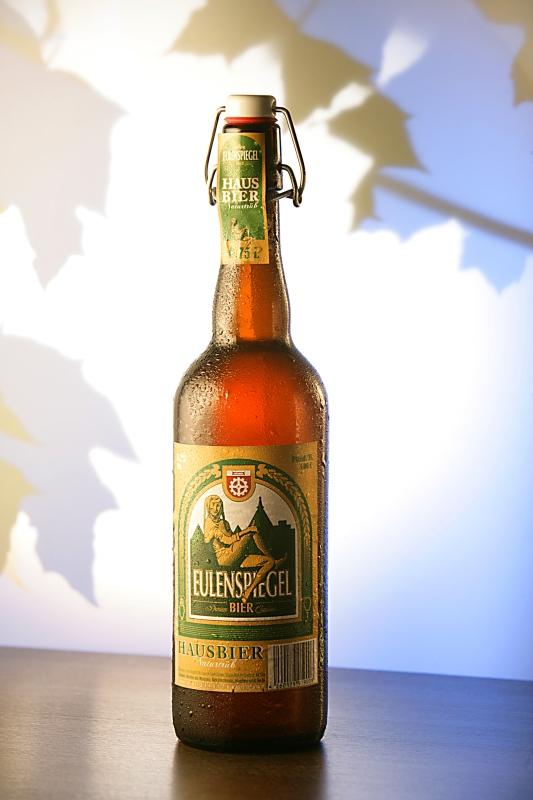 Eulensoiegel-Bier-Flasche